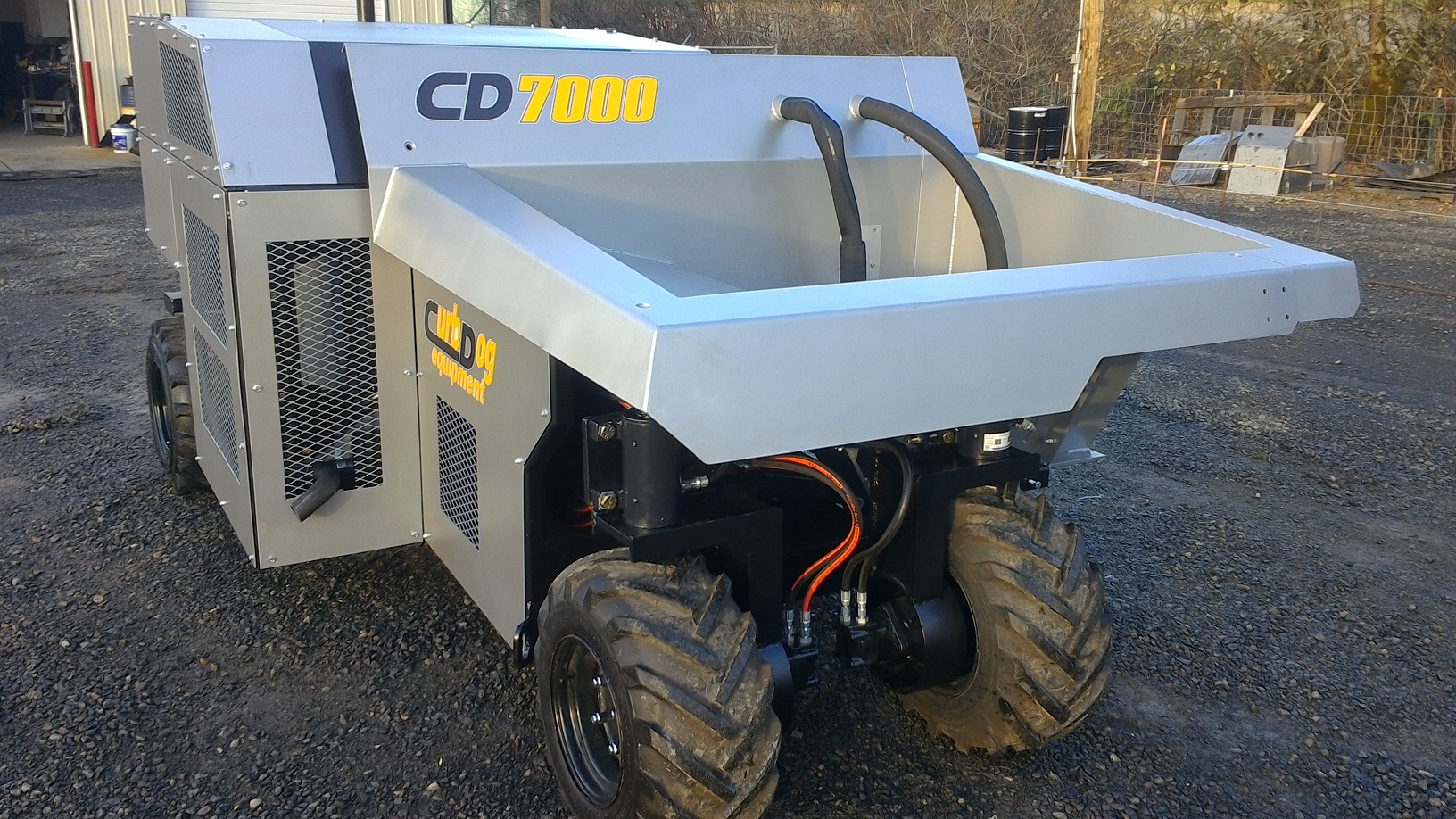 CD7000 front